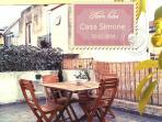 Private terrace -Casa Simone Eolo in Lipari