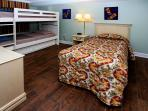 Third bedroom with trundle bed and twin bed-great for kids. sleeps 4.