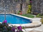 Fantastic pool and outdoor dining are