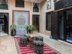 Lobby fountain from Fez