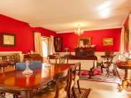 Dining room in Gearagh House