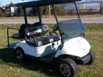 4 seater golf cart.
