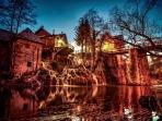 Rastoke - mill village that features waterfalls. This fairytale village is 10 minutes walk away.