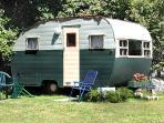 Bonus bedroom antique trailer sleeps thee