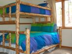 Bunk Bed Room #2 with Brand New Bedding.  Sleeps 3.