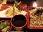 Delicious Soba lunch at Rakuichi
