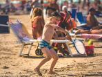 Dintorni: spiaggia dei Lidi di Comacchio