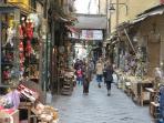 Via San Gregorio Armeno; it is far 400 meters from the 'Studio Atri'