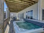 Hot Tub on Ocean Side Deck