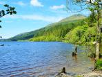 Scenic walks at Loch Eck, 10 mins drive away
