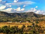 Caldearenas vista panoramica