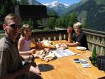 Restaurant on the Graukogel side!