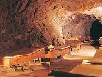 Hot Radon caves.
