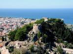 The Castle of Kyparissia.