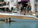 renta a boat ,key largo sessa , yamaha 150