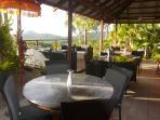 Breakfast Area & Outdoor reception / observation deck