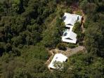 Arial View - Secluded & Private amidst the Rainforest and only 10 minutes to Port Douglas