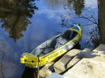 2 person Tandem Kayak free of charge!