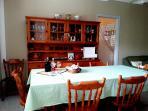 soggiorno/pranzo climatizzata, con divano letto