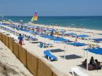 La plage 'do Barril'