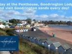 Goodrington Sands - The beautiful sandy beach right on your door step.