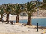 Praia da Luz beautiful promenade and beach