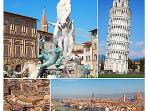Our cottage, 3 km from Collodi and Pescia, is at the center of the provinces of Lucca, Pistoia, Pisa