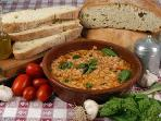 In our farm you can taste many typical products and dishes of our region