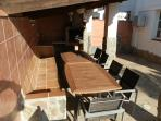 casa chris`s undercover seating for 16 plus people