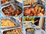 Ask about our professional chef services. Evening meals, Birthday celebrations, wedding receptions