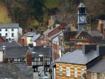 Llanidloes - timber frames and Victorian past