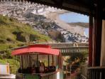 Take a trip up the cliff railway inAberystwyth.