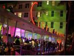 Another Hot Club/Bar Clevelander, Ocean Dr..