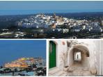 Ostuni 'the white city' - 12km away