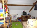 Children's playroom an excellent choice of toys, books, games etc..