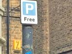Free Parking on Many East Greenwich Streets