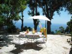 Terrasse appartement Elba