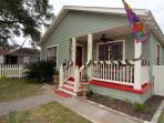 3 bedroom 2 bath home close to the Pleasure pier, and the Strand Shopping district.