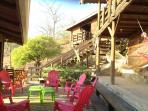 Main level - outdoor social areas