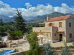 Ariadne Stone Villa, Melidoni , CRETE