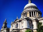 St Paul's Cathedral is a 20 minute walk away from Clerkenwell.