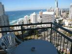 View over Surfers Paradise and beach