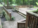 Enjoy our new decking area!