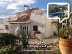 The holidayhouse with pool, airco, wifi and UK t v.
