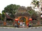 Ubud Palace, next door.