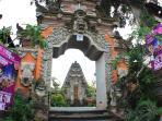 The temple next door.