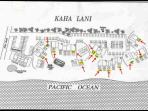 Kaha Lani Resort site map