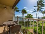 Your private lanai with ocean views!