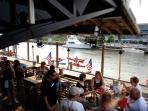Dining on the Docks at Shem Creek, 20 Min!