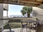 Fantastic Oceanfront Deck with Direct Beach Access